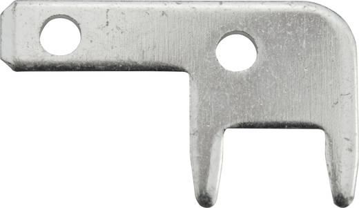 Steckzunge Steckbreite: 2.8 mm Steckdicke: 0.8 mm 90 ° Unisoliert Metall Vogt Verbindungstechnik 3789c08.68 100 St.