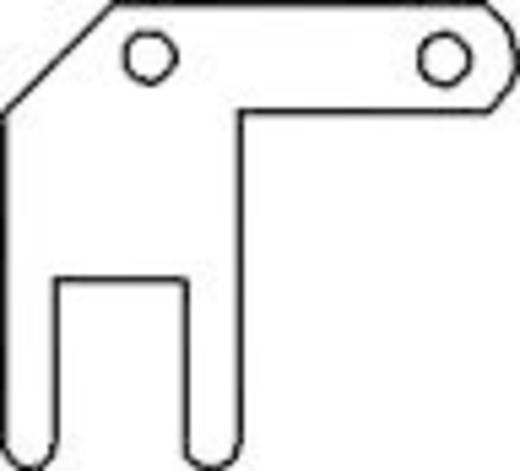 Steckzunge Steckbreite: 2.8 mm Steckdicke: 0.5 mm 90 ° Unisoliert Metall Vogt Verbindungstechnik 378705.68 100 St.