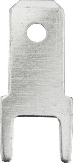 Steckzunge Steckbreite: 4.8 mm Steckdicke: 0.8 mm 180 ° Unisoliert Metall Vogt Verbindungstechnik 3825m.68 100 St.