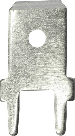 Vogt Verbindungstechnik 3866a.28 Steckzunge Steckbreite: 6.3 mm 180 ° Unisoliert Metall 100 St.
