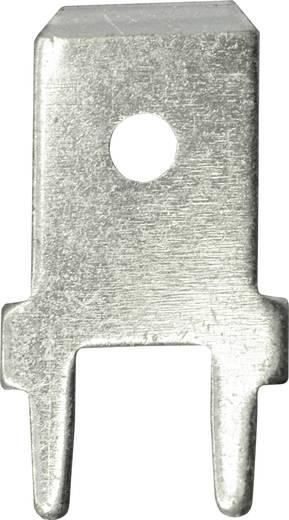 Steckzunge Steckbreite: 6.3 mm 180 ° Unisoliert Metall Vogt Verbindungstechnik 3866b.68 100 St.