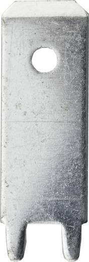 Steckzunge Steckbreite: 6.3 mm 180 ° Unisoliert Metall Vogt Verbindungstechnik 3866f.68 100 St.