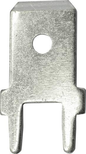 Steckzunge Steckbreite: 6.3 mm 180 ° Unisoliert Metall Vogt Verbindungstechnik 3866b.61 100 St.