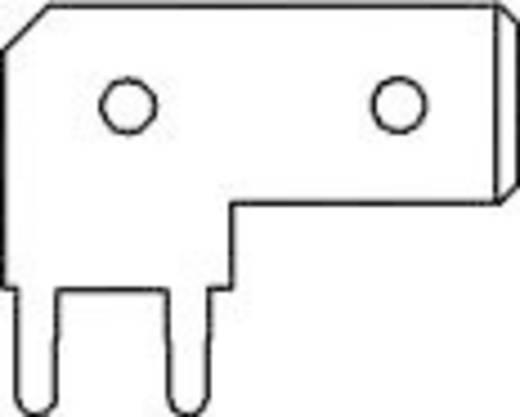 Steckzunge Steckbreite: 6.3 mm Steckdicke: 0.8 mm 90 ° Unisoliert Metall Vogt Verbindungstechnik 3867e.68 1 St.