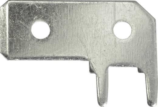 Steckzunge Steckbreite: 6.3 mm Steckdicke: 0.8 mm 90 ° Unisoliert Metall Vogt Verbindungstechnik 3868a.68 1 St.