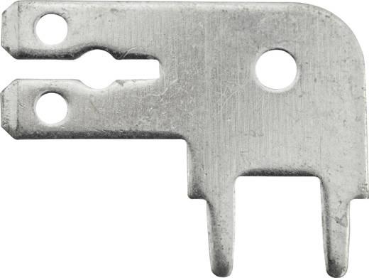 Steckzunge Steckbreite: 6.3 mm Steckdicke: 0.8 mm 90 ° Unisoliert Metall Vogt Verbindungstechnik 3867k.68 1 St.
