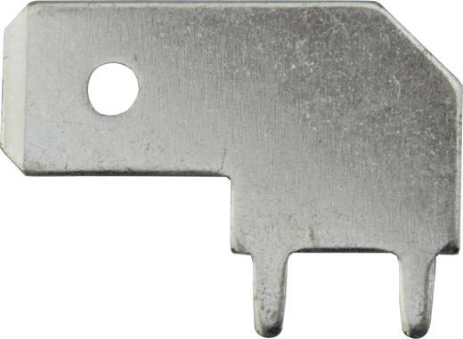 Steckzunge Steckbreite: 6.3 mm Steckdicke: 0.8 mm 90 ° Unisoliert Metall Vogt Verbindungstechnik 3867b.28 1 St.