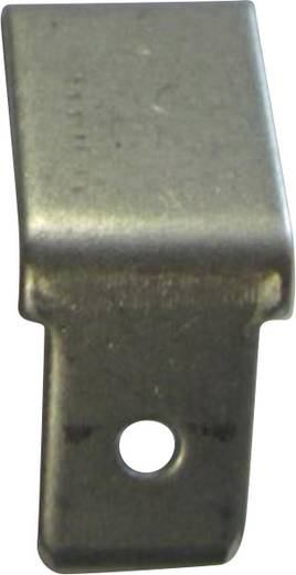 Steckzunge Steckbreite: 6.3 mm Steckdicke: 0.8 mm 45 ° Unisoliert Metall Vogt Verbindungstechnik 3841.8 1 St.