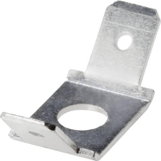 Steckzunge Steckbreite: 6.3 mm Steckdicke: 0.8 mm 45 °, 45 ° Unisoliert Metall Vogt Verbindungstechnik 3871a.67 1 St.