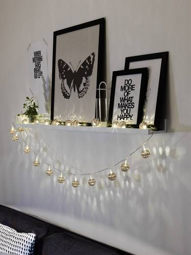 Motiv-Lichterkette Innen LED Warm-Weiß Konstsmide 3156-603