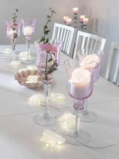 Konstsmide 3193-103 Motiv-Lichterkette Schmetterlinge LED Warm-Weiß Beleuchtete Länge: 1.98 m