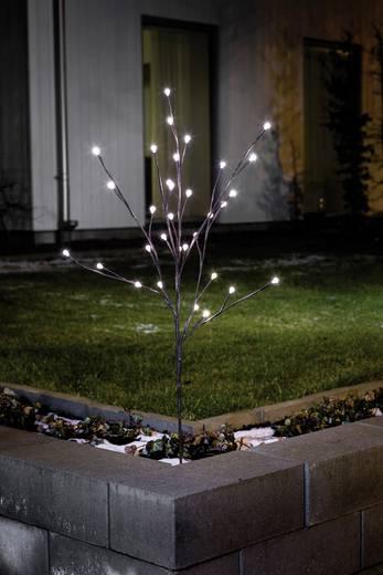 Boden-Dekoration Lichterzweig Warm-Weiß LED Konstsmide 3369-600 Braun