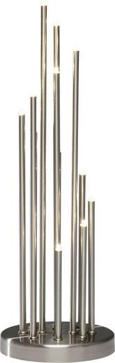Tisch-Dekoration Metallleuchter Warm-Weiß LED Konstsmide 3535-900TR Aluminium (gebürstet)