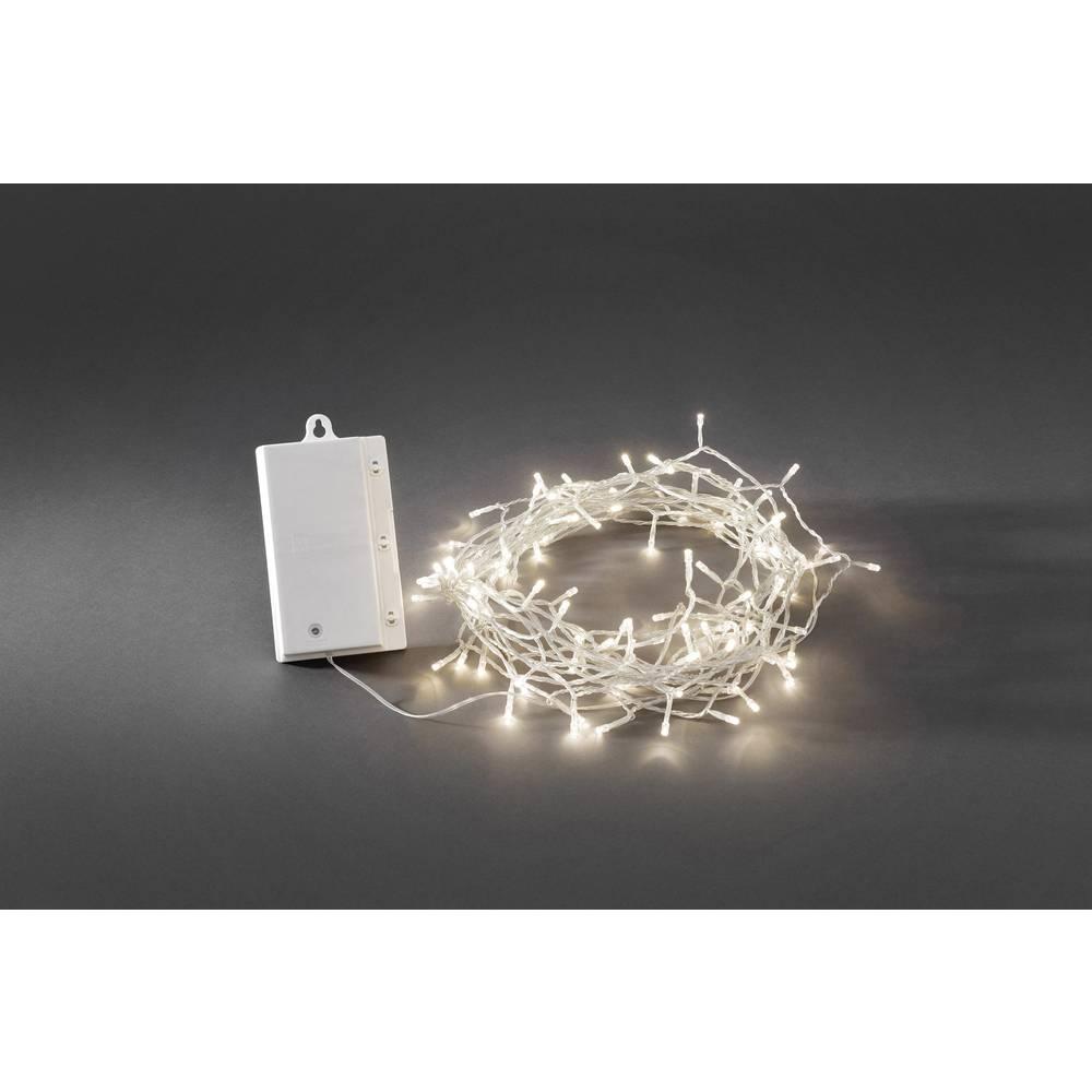 Led lichterkette 120 ww transpare kabel im conrad online - Lichterkette ohne kabel ...