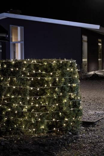 Micro-Lichterkette 240 LED Warm-Weiß Beleuchtete Länge: 24 m Konstsmide 3730-103