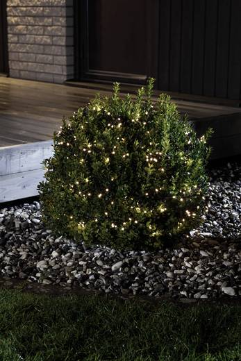 Konstsmide 3736-100 Motiv-Lichterkette 480 LED Warm-Weiß Beleuchtete Länge: 6 m