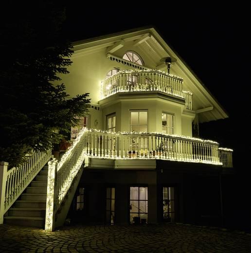Konstsmide 3791-100 Micro-Lichterkette 580 LED Warm-Weiß Beleuchtete Länge: 3 m