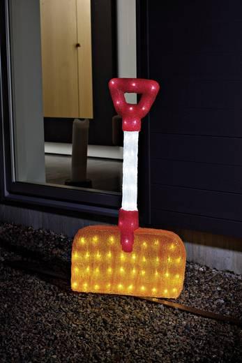 Konstsmide 6190-203 Acryl-Figur EEK: A (A++ - E) Schneeschaufel Kalt-Weiß LED