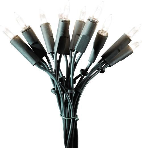 Mini-Lichterkette Innen netzbetrieben 200 LED Warm-Weiß Beleuchtete Länge: 29.85 m Konstsmide 6306-120