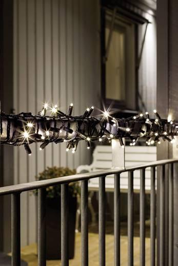 Konstsmide 6630-117 Micro-Lichterkette 40 LED Warm-Weiß Beleuchtete Länge: 3.9 m