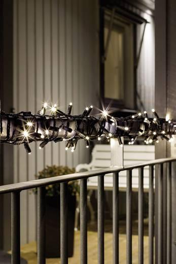 Konstsmide 6631-117 Micro-Lichterkette Außen 80 LED Warm-Weiß Beleuchtete Länge: 7.9 m