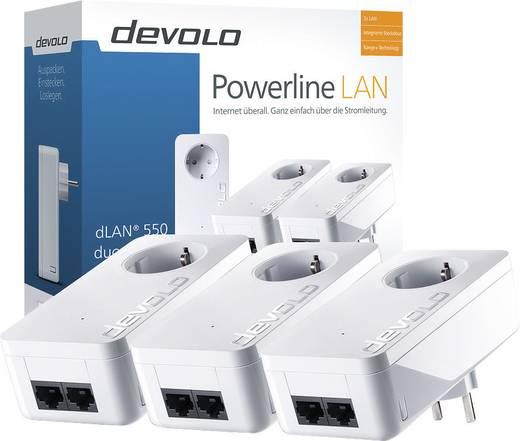 Powerline Network Kit 500 MBit/s Devolo dLAN® 550 duo+