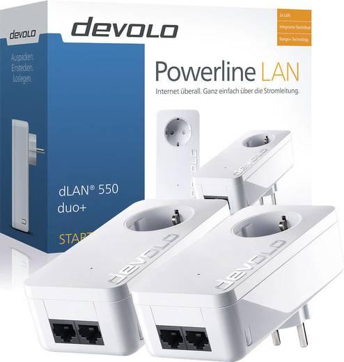 Powerline Starter Kit 500 MBit/s Devolo dLAN® 550 duo+
