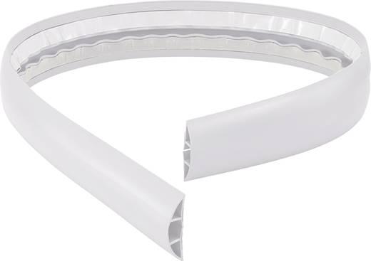 Conrad Components Kabelbrücke PVC Weiß Anzahl Kanäle: 1 1800 mm Inhalt: 1 St.