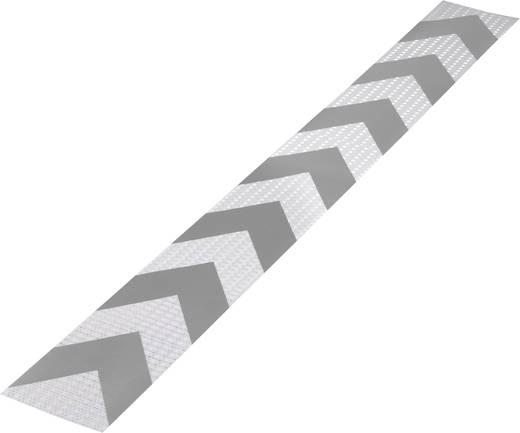 Warnstreifen RTS Silber, Grau (L x B) 1 m x 115 mm Conrad Components 1226959 1 St.
