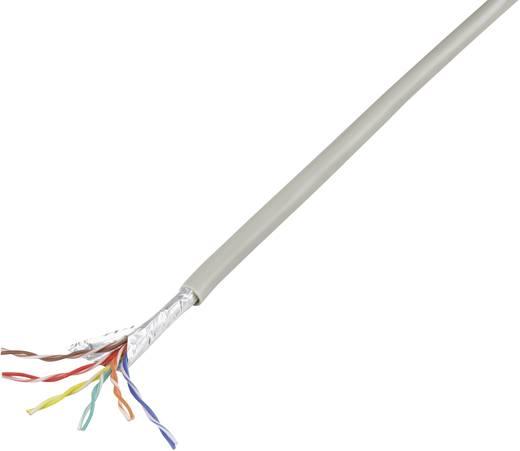 Telefonkabel J-Y(ST)Y 6 x 2 x 0.60 mm Grau Conrad Components 1226968 10 m