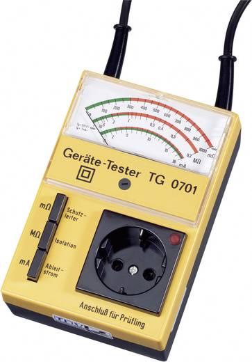 Gerätetester, Installationstester GMW TG 0701 DIN EN 61010 Teil 1/VDE 0411 Teil 1
