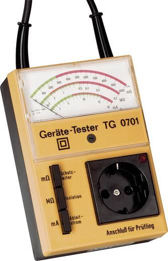 Gerätetester, Installationstester GMW TG 0701 DIN EN 61010 Teil 1/VDE 0411 Teil 1 Kalibriert nach ISO