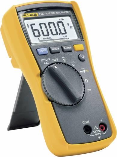 Hand-Multimeter digital Fluke 114 Kalibriert nach: Werksstandard (ohne Zertifikat) CAT III 600 V Anzeige (Counts): 6000