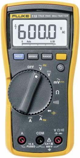 Hand-Multimeter digital Fluke 115 Kalibriert nach: DAkkS CAT III 600 V Anzeige (Counts): 6000