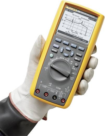 Hand-Multimeter digital Fluke 289/EUR Kalibriert nach: Werksstandard Grafik-Display, Datenlogger CAT III 1000 V, CAT IV 600 V Anzeige (Counts): 50000