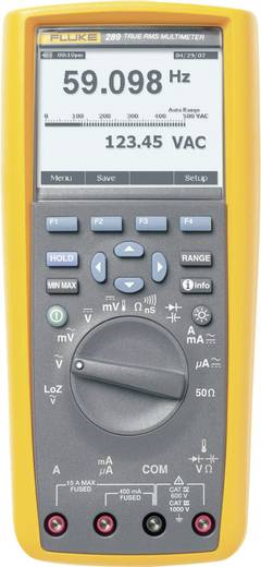 Hand-Multimeter digital Fluke 289/EUR Kalibriert nach: Werksstandard (ohne Zertifikat) Grafik-Display, Datenlogger CAT I