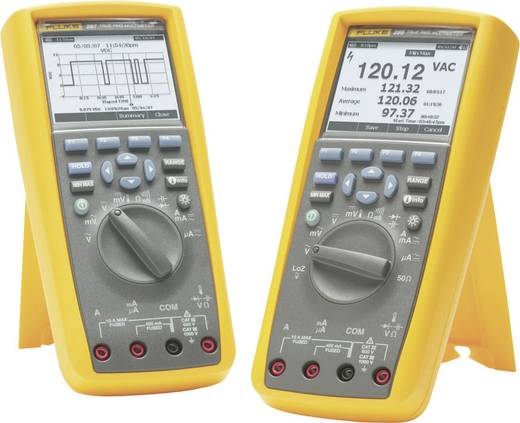 Hand-Multimeter digital Fluke 287/EUR Kalibriert nach: Werksstandard (ohne Zertifikat) Grafik-Display, Datenlogger CAT I