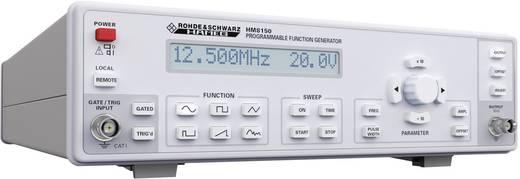 Rohde & Schwarz HM8150 Fernsteuerbarer Arbiträr Funktionsgenerator 0.01 Hz - 12.5 MHz Signal-Ausgangsform(en) Sinus, Rechteck, Dreieck,Impuls, Sägezahn, Arbiträr