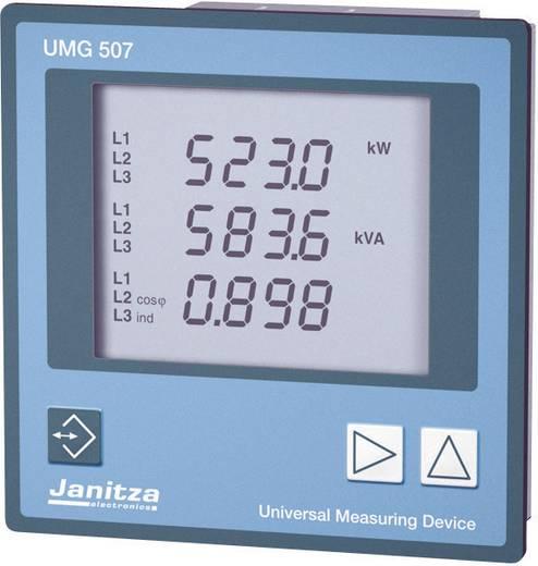 Janitza UMG 507E Universal-Messgerät L-N: 50 - 500 V/AC, L-L: 80 - 870 V/AC, Strommessung 0 - 5 A/0 - 1 A Einbaumaße DIN