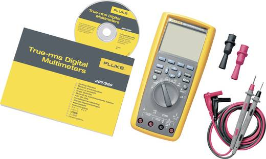Hand-Multimeter digital Fluke 287/EUR Kalibriert nach: Werksstandard Grafik-Display, Datenlogger CAT III 1000 V, CAT IV