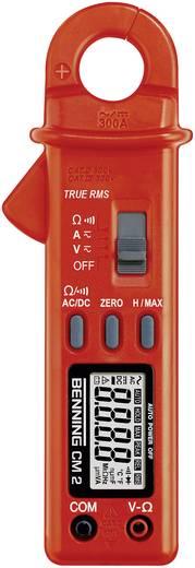 Stromzange, Hand-Multimeter digital Benning CM 2 Kalibriert nach: Werksstandard CAT II 600 V, CAT III 300 V Anzeige (Co