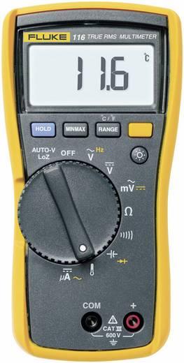 Hand-Multimeter digital Fluke 116 Kalibriert nach: ISO CAT III 600 V Anzeige (Counts): 6000