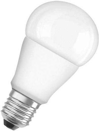 OSRAM LED E27 Glühlampenform 8 W = 60 W Warmweiß (Ø x L) 60 mm x 110 mm EEK: A+ 2 St.