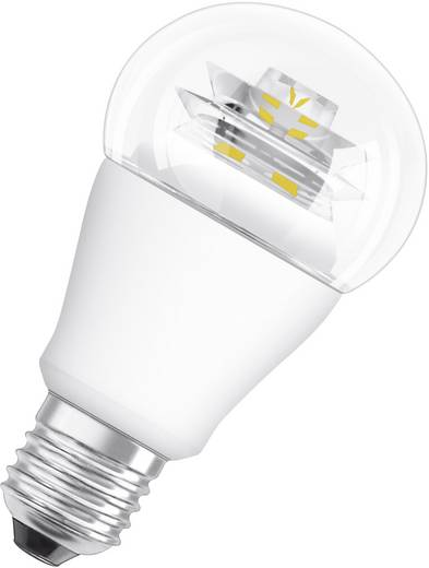 OSRAM LED E27 Glühlampenform 8 W = 60 W Warmweiß (Ø x L) 60 mm x 110 mm EEK: A+ 1 St.