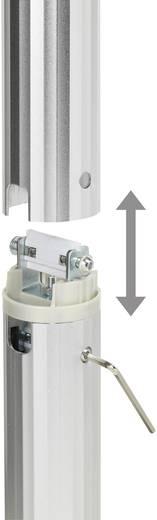 Beamer-Deckenhalterung Neigbar, Drehbar Boden-/Deckenabstand (max.): 106 cm SpeaKa Professional 1227390 Silber