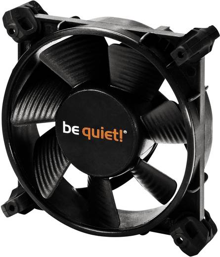 BeQuiet Silent Wings 2 PWM PC-Gehäuse-Lüfter Schwarz (B x H x T) 92 x 92 x 25 mm