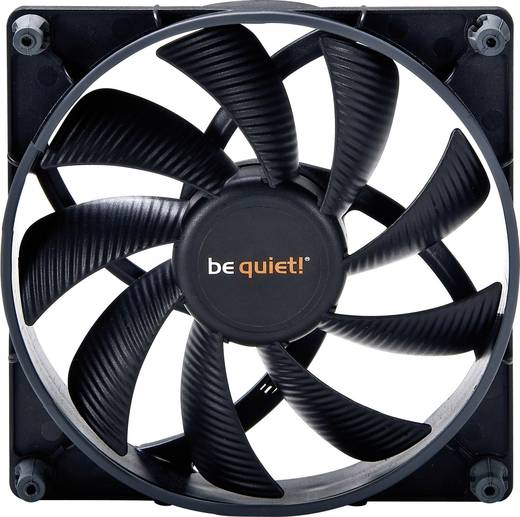 BeQuiet Shadow Wings High-Speed PC-Gehäuse-Lüfter (B x H x T) 120 x 120 x 25 mm
