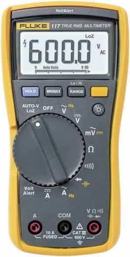 Fluke 117 Hand-Multimeter digital Kalibriert nach: Werksstandard (ohne Zertifikat) CAT III 600 V Anzeige (Counts): 6000