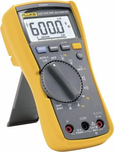 Hand-Multimeter digital Fluke 117 Kalibriert nach: ISO CAT III 600 V Anzeige (Counts): 6000