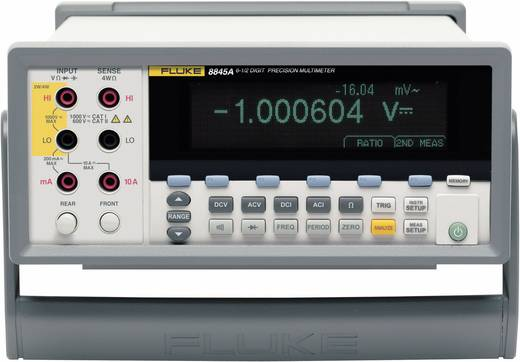 Fluke 8845A Tisch-Multimeter digital Kalibriert nach: ISO CAT II 600 V Anzeige (Counts): 200000
